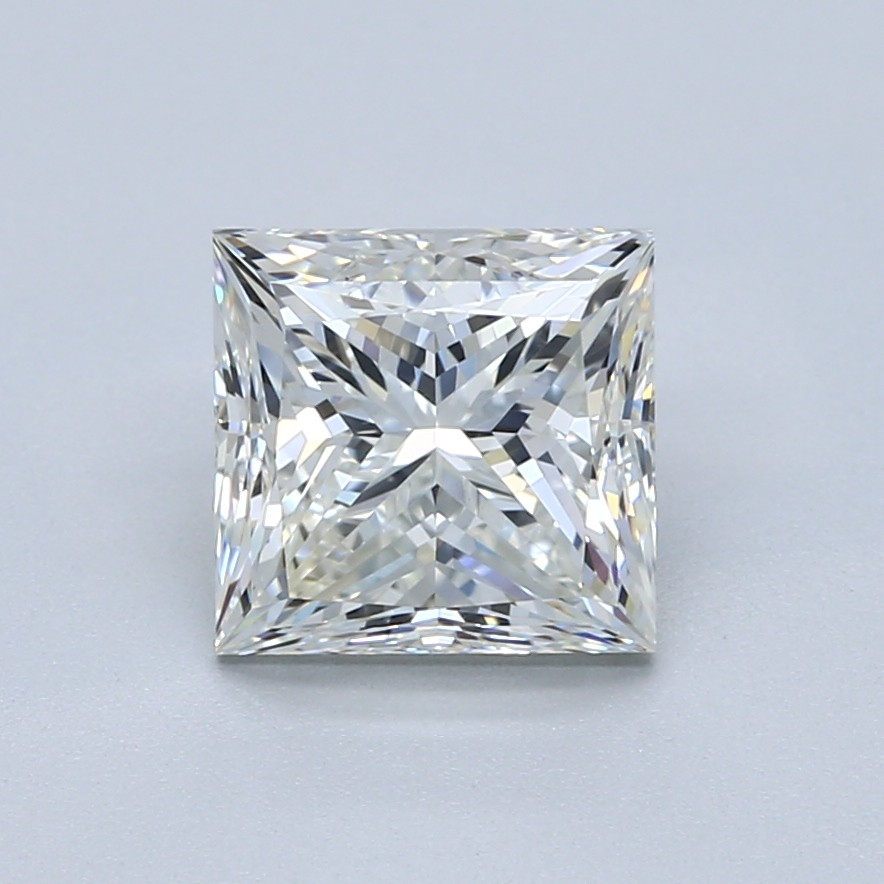 2.5 carat I color princess cut diamond