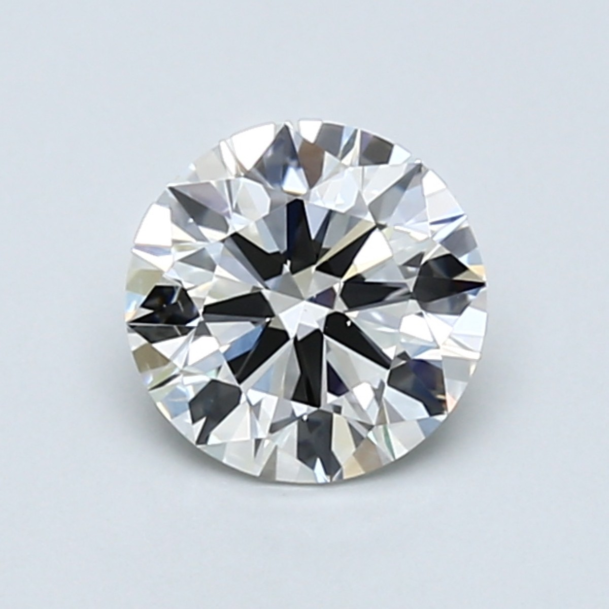 Round 1.0 Carat G Color VS2 Clarity For Sale