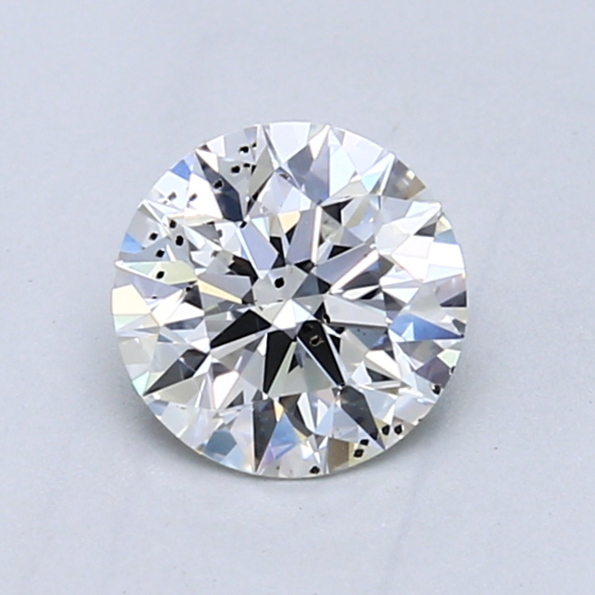 Dark inclusions in an SI2 diamond
