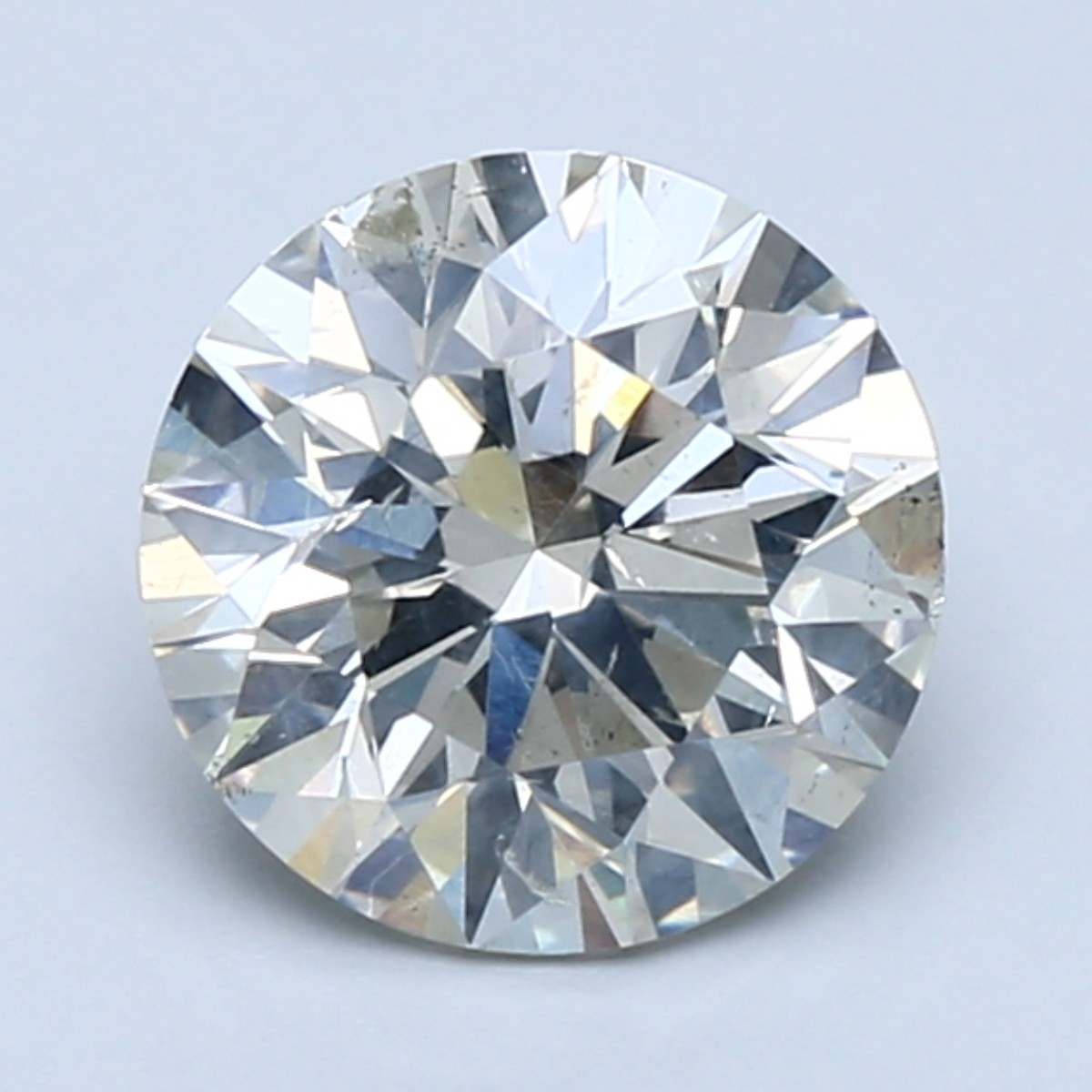 2 carat K color diamond with SI2 clarity