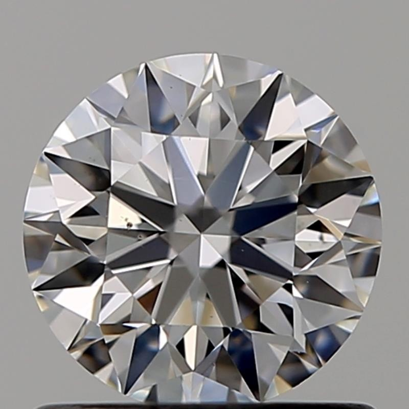 Round 0.72 Carat G Color VS2 Clarity For Sale
