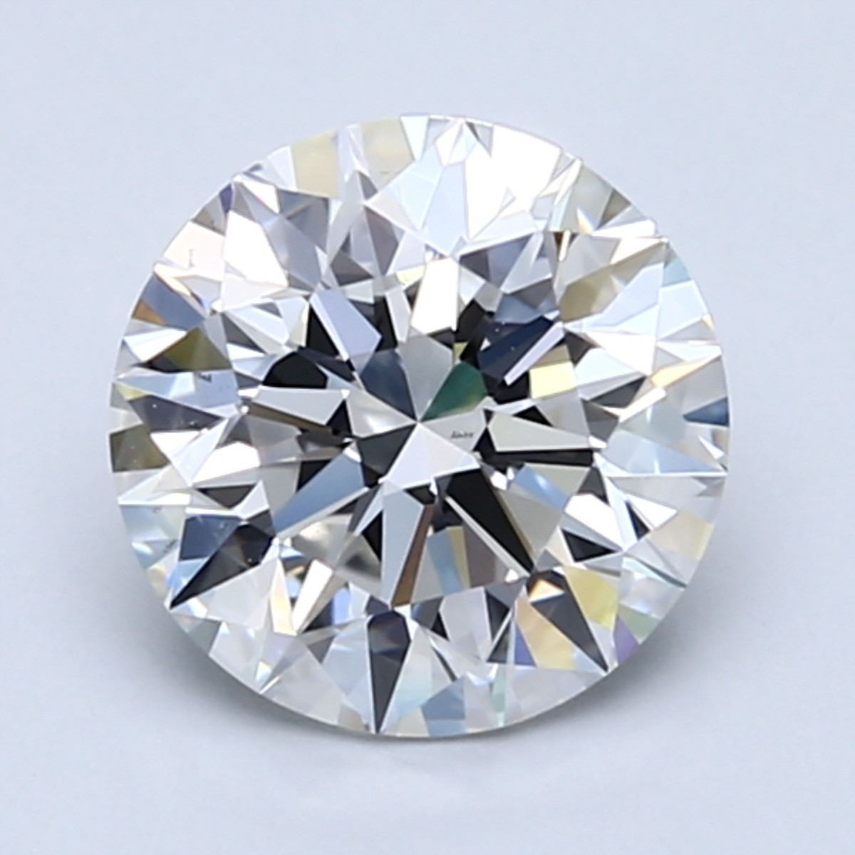 Round 1.9 Carat G Color VS2 Clarity For Sale
