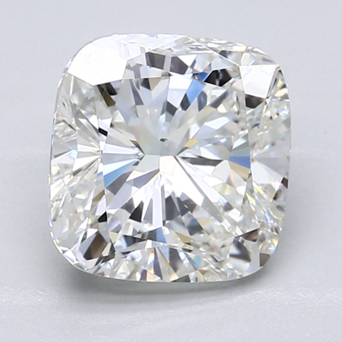 Cushion 3.06 Carat G Color VS2 Clarity For Sale