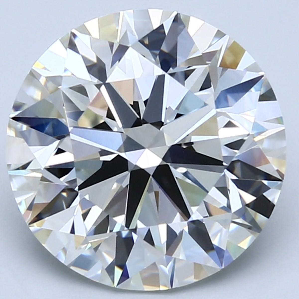 6 carat I color diamond