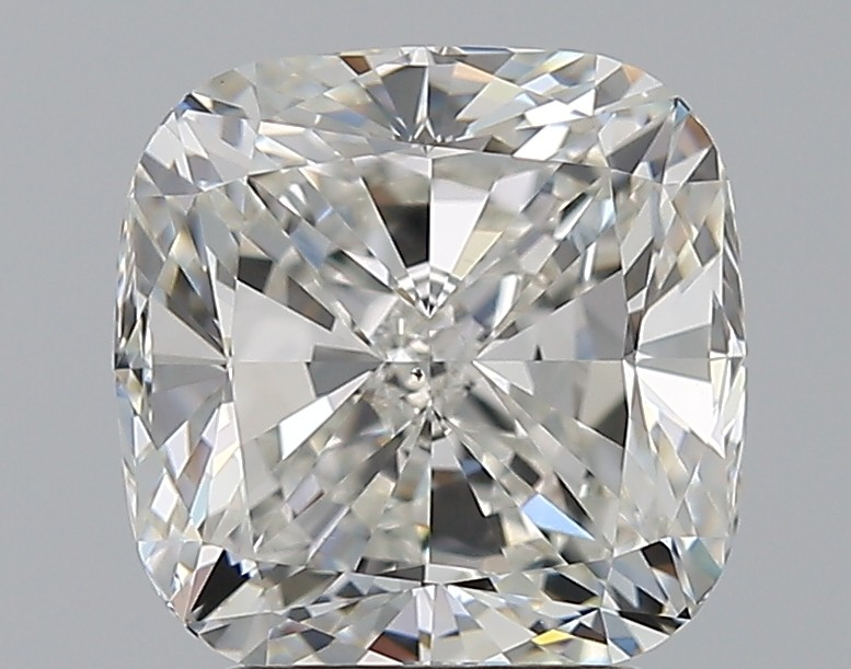 Cushion 3.01 Carat G Color VS2 Clarity For Sale