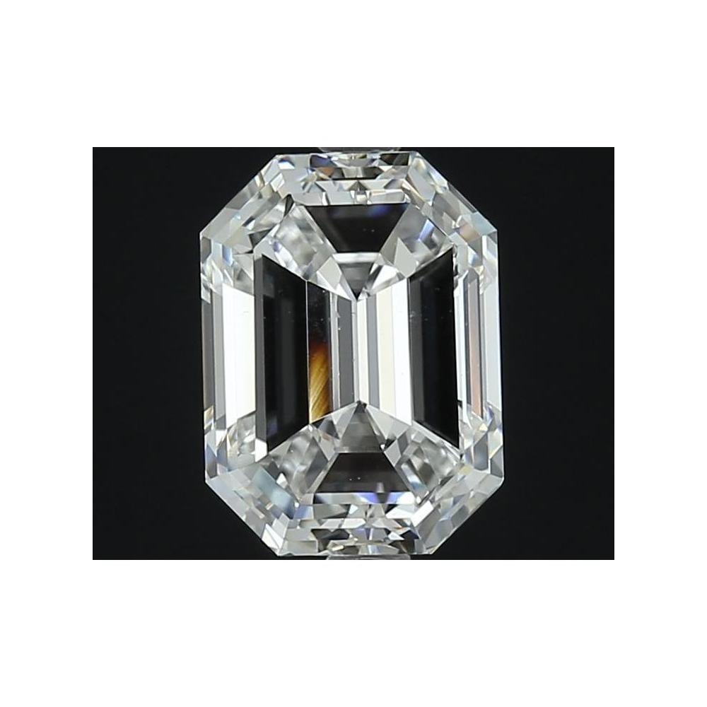 Emerald 3.01 Carat G Color VS2 Clarity For Sale