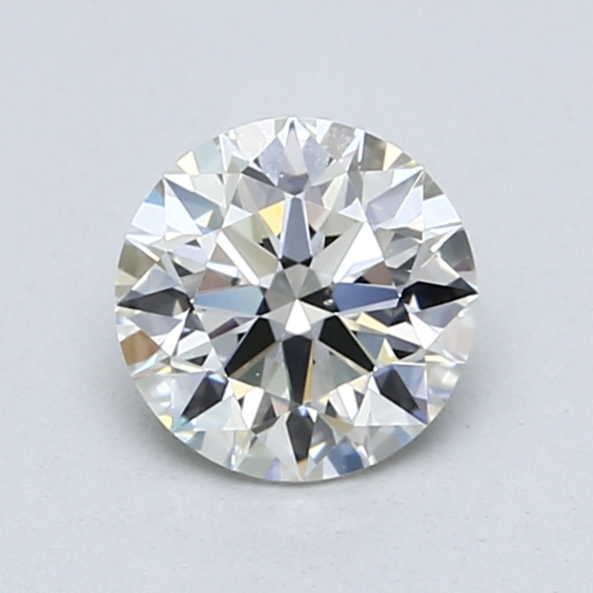 2 Carat D Color Diamond Facing Up White