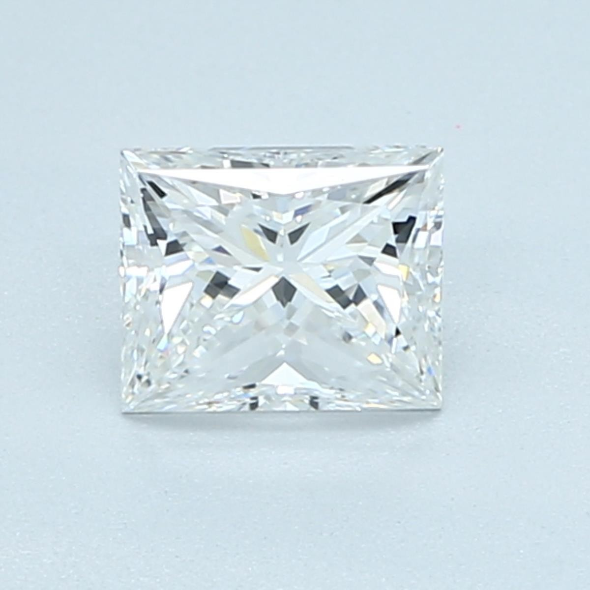 1 carat rectangular princess cut diamond with a length-to-width ratio of 1.15