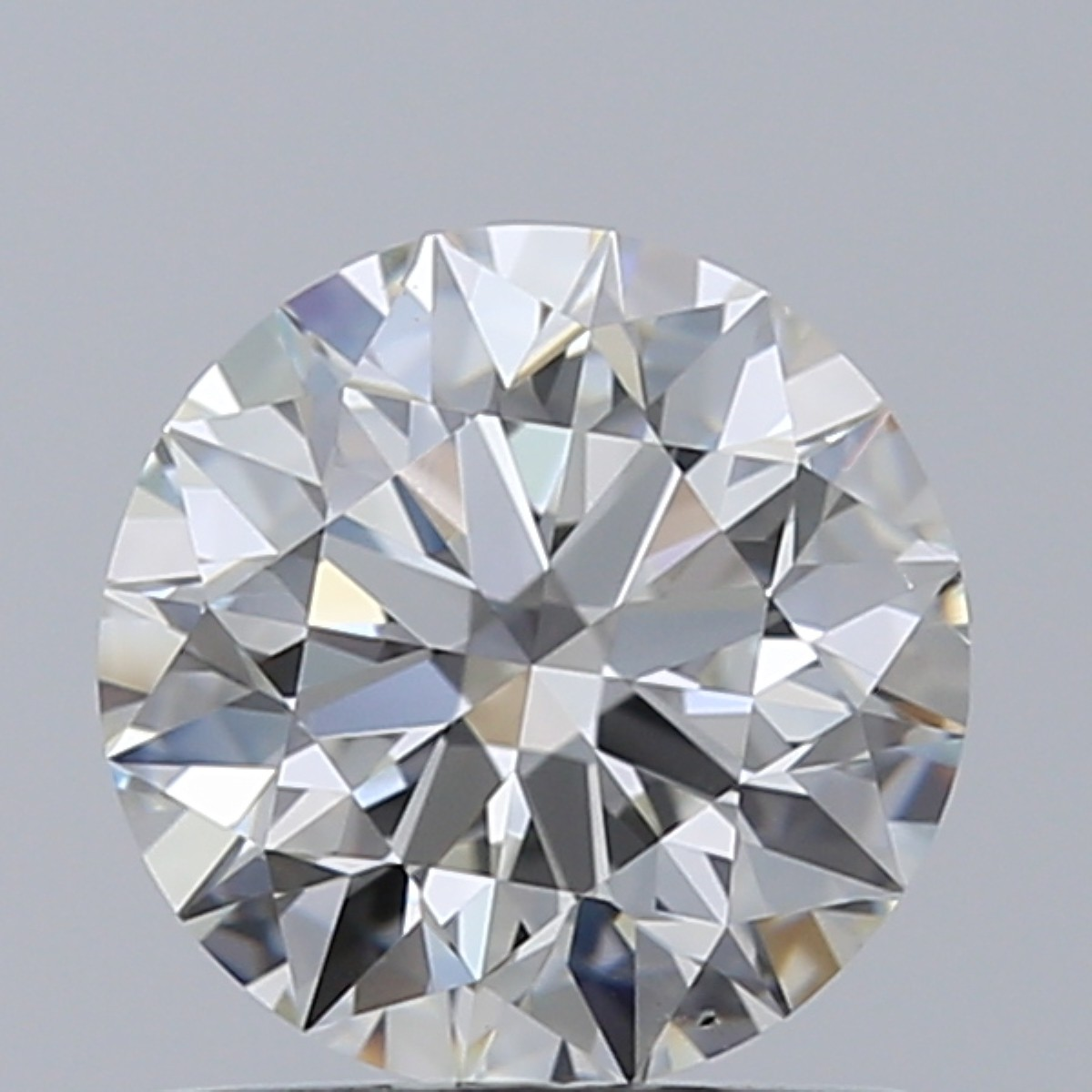 Round 1.02 Carat G Color VS2 Clarity For Sale