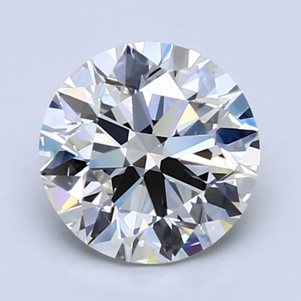 2 carat I color diamond